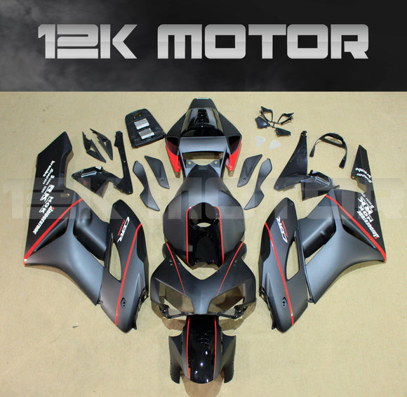 HONDA CBR1000RR Fairings 2004 2005 Matt Black Motorcycle Fairing kits