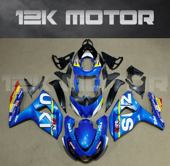 Blue Fairing fit for SUZUKI GSXR 1000 2009-2017 Aftermarket Fairing Kit
