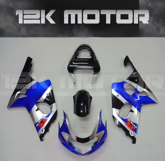 Blue Fairing Kit Set fit for SUZUKI GSXR 1000  2000 2001 2002 Aftermarket Fairings Kit