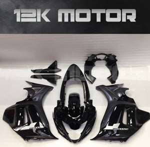 SUZUKI GSX650F 2008-2013 Black and Silver Fairing