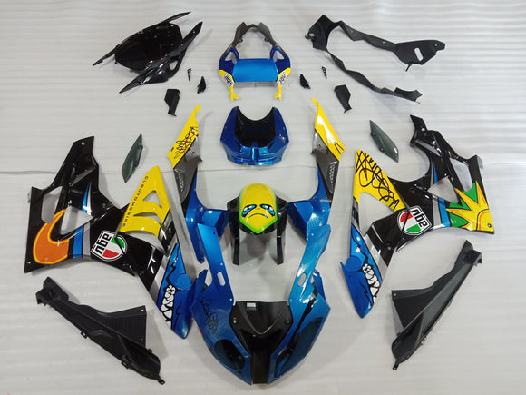 ---AU STOCKING---Shark Fairing Kit for BMW S1000RR 2009 2010 2011 2012 2013 2014