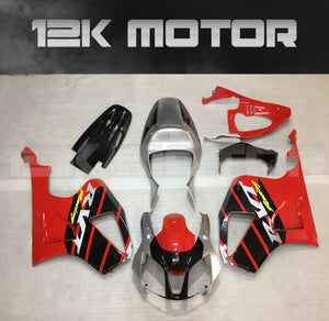 Red and Black Fairing kit Fit HONDA RVT1000 RC51 SP1 SP 2 2000 - 2006 Aftermarket Fairing