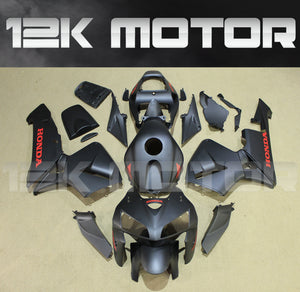 ---AU STOCKING---Fit Honda CBR600RR 2005 2006 Matt Black Fairing Kit