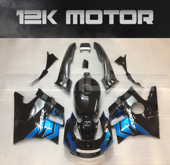 Black Blue Fairing kits Fit for HONDA CBR600RR F2 1991-1994 Aftermarket Fairing Kit