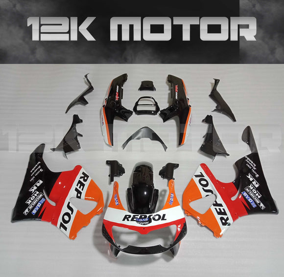 Orange and Black Fairing Fit for HONDA CBR900RR 1996 1997 Aftermarket Fairing Kit