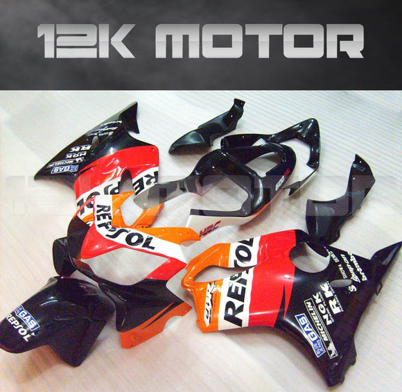 HONDA CBR600 F4i Fairings 2001 2002 2003 Repsol Fairing kit