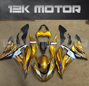 Gold Color Aftermarket Fairing for Kawasaki ZX-6R 2013 2014 2015 2016 2017 2018