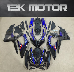 Black and Blue Fairing Fit for SUZUKI GSXR 600/750 2008-2010 Aftermarket Fairing Kit