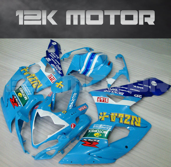 Sky Blue Fairing kits Fit for SUZUKI GSXR 1000 2005 2006 Aftermarket Fairing Kit
