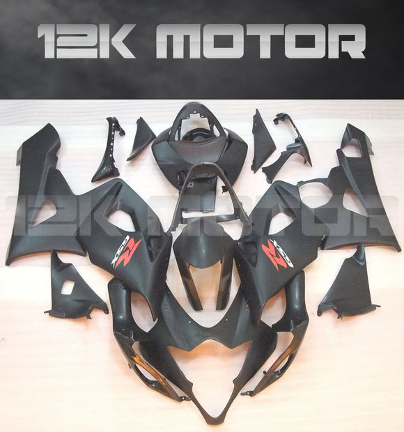 Matt Black Fairing Fit for SUZUKI GSXR 1000 2005 2006 Aftermarket Fairing Kit