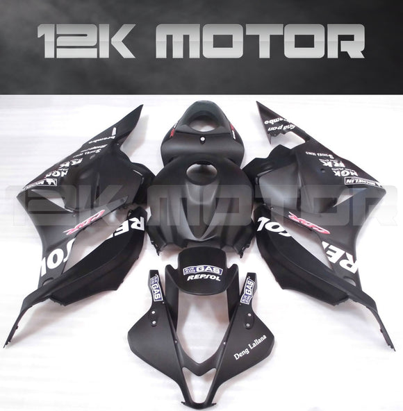 Fit for HONDA CBR600RR 2009-2012 Black Fairing Aftermarket Fairing Kit