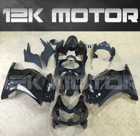 ---AUSTOCKING---Fit Kawasaki Ninja 250 Black Fairing kit
