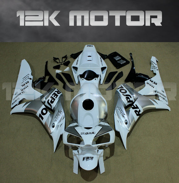 White Silver Repsol Fairing fit for HONDA CBR1000RR 2006 2007 Aftermarket Fairing Kits