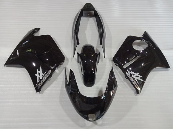 ---AU STOCKING--- Gloss Black Fairing Kit For Honda CBR1100XX CBR1100 BLACKBIRD