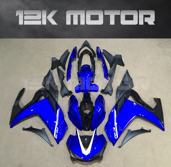 Aftermarket R3 Fairings For Yamaha YZF-R3 motorcycle Blue fairing 2015 2016 2017