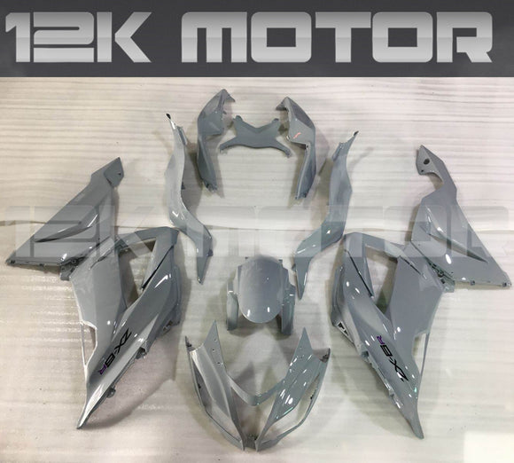 Nardo Grey Fairing Kit for Kawasaki ZX-6R 2013 2014 2015 2016 2017 2018