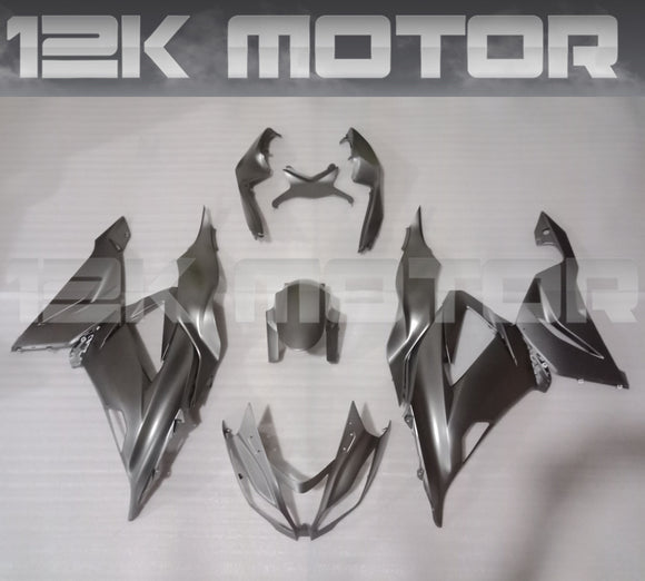 Dark Silver Fairing Kit for Kawasaki ZX-6R 2013 2014 2015 2016 2017 2018