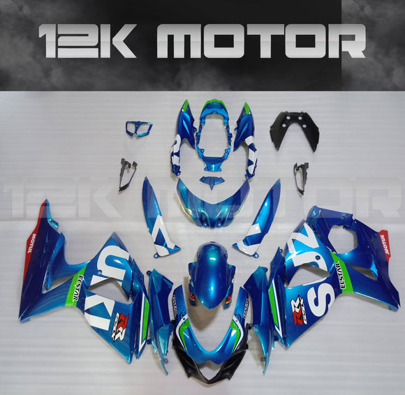 Blue Fairing kit for SUZUKI GSXR1000 2009 to 2016