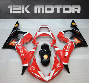 Red Santander Fairing fit for Yamaha 2003 2004 2005 R6  Fairing Kits