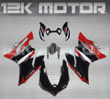 Special Black Red Design For Ducati 899 1199  Fairing Kit