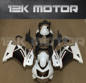 White Black Bike Fairings for Ninja 250R EX250 2008 - 2012