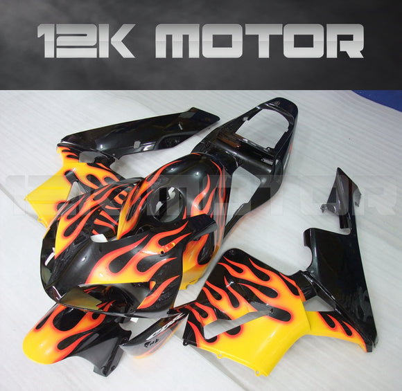 Fire Flame Fairing Fit for HONDA CBR600RR F5 2003 2004 Aftermarket Fairing Kit