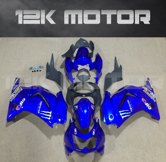 Fairings for Kawasaki Ninja 250 EX250 2008 2009 2010 2011 2012 Fairing Kits Blue Monster