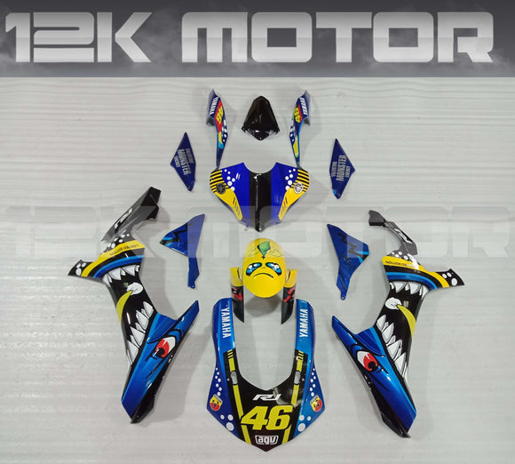 Shark Scheme Fairing Kit for Yamaha R1 2015-2019