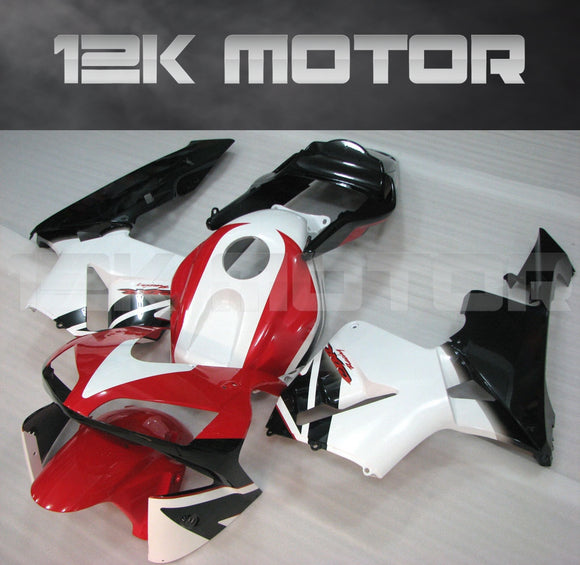 Red White Fairing Kits Fit for HONDA CBR600RR F5 2003 2004 Aftermarket Fairing Kit
