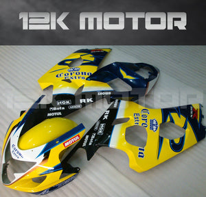 Yellow Fairing  Fit For SUZUKI GSXR 600/750 2004 2005 Aftermarket Fairing Kit