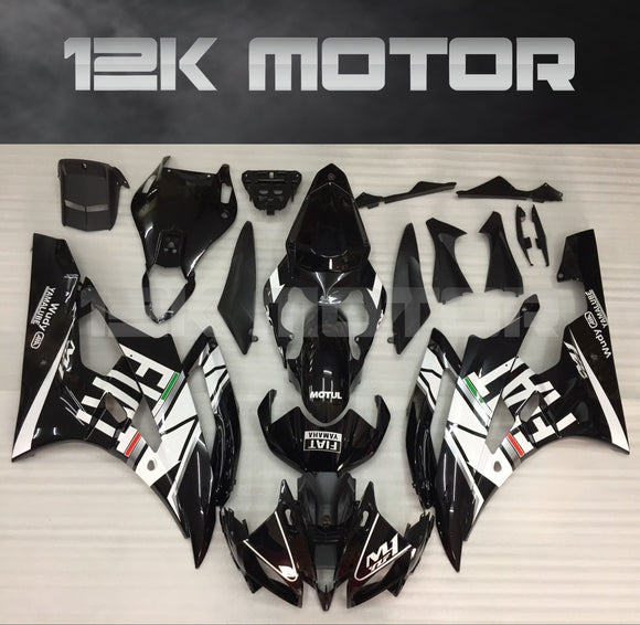 YZF R6 Fairings 2006 2007 Fairing Black FIAT Fairing kit set