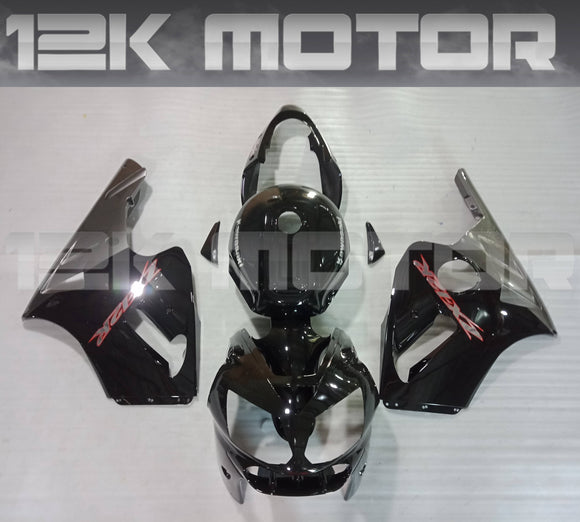 Black Fairing Kit For KAWASAKI ZX12R 2002 2003 2004 2005 2006