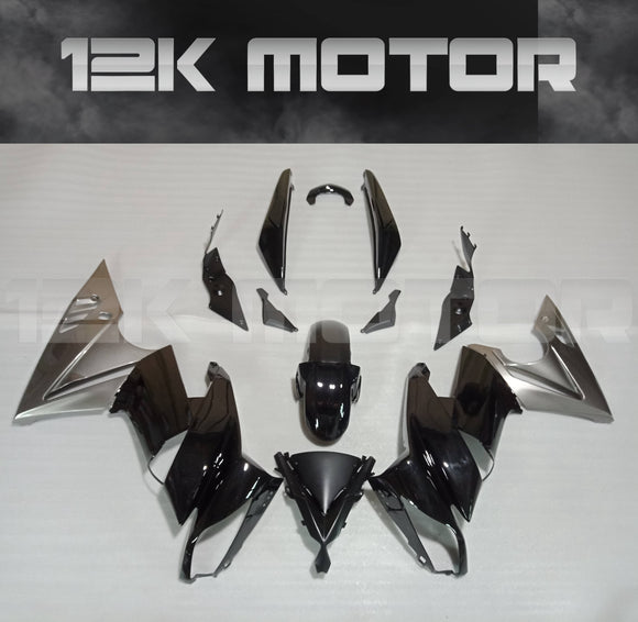 Gloss Black Fairing Kit For KAWASAKI Ninja 650R EX650C 2009 2010 2011 2012