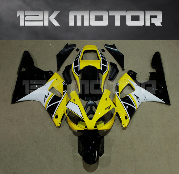Yellow Fairing For Yamaha R1 2000 2001 Aftermarket Fairing Kit