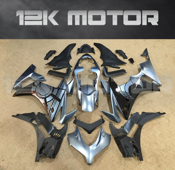 Black and Silver Fairing fit for HONDA CBR500 2013-2015 Aftermarket Fairing Kit