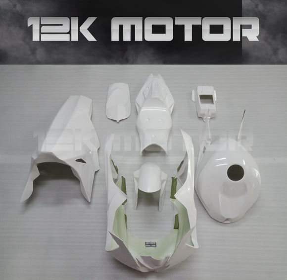 BMW S1000RR Race Fairing Kit Fiberglass Track Fairing Set 2012-2014