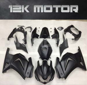 Ninja 250R EX250 2008 - 2012 Matt Black Fairing
