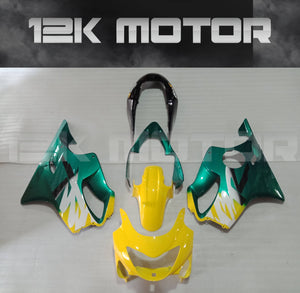 Green Yellow Fairing kits Fit for HONDA CBR600RR F4 1990 2000 Aftermarket Fairing Kit