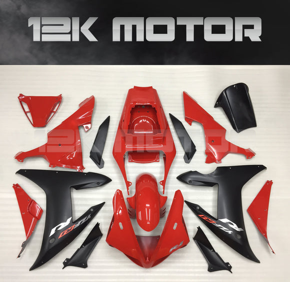 Red Fairing For Yamaha R1 2002 2003 Aftermarket Fairing Kit