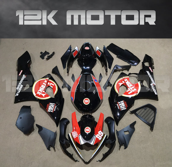 Orange and Black Fairing Fit for SUZUKI GSXR 1000 2005 2006 Aftermarket Fairing Kit
