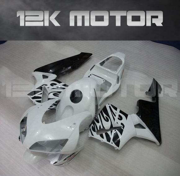 White Black Fairing Kits Fit for HONDA CBR600RR F5 2003 2004 Aftermarket Fairing Kit