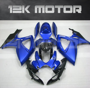 Matt Blue Fairing Fit For SUZUKI GSXR 600/750 2006 2007 Aftermarket Fairing Kit