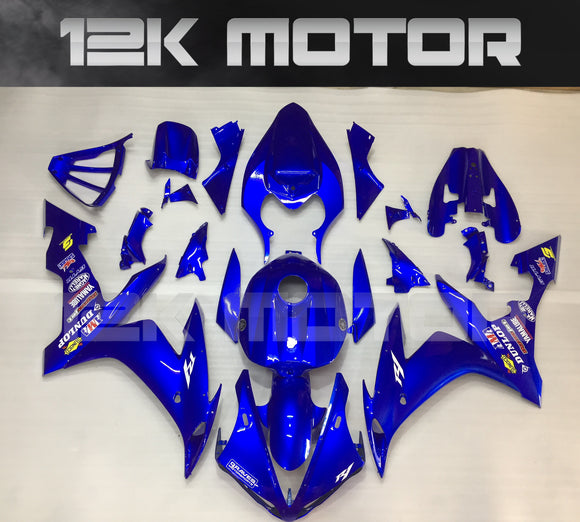 All Blue Fairing For Yamaha R1 2004 2005 2006 Fairing Kit