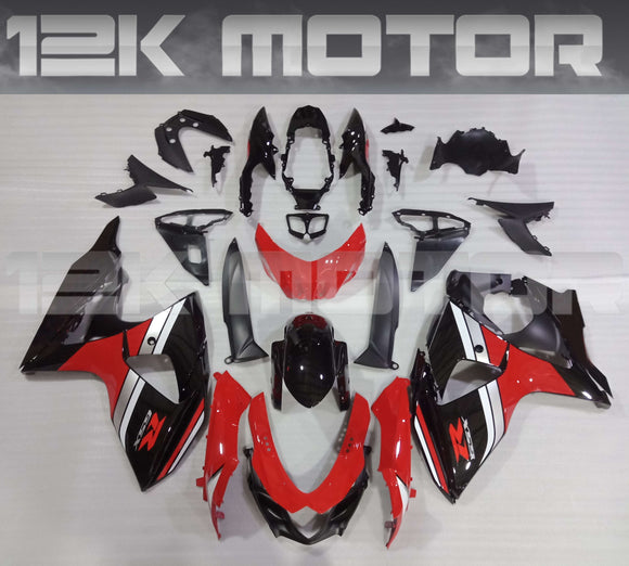 Factory Red Design Fairing kit for SUZUKI GSX-R 1000 2009 - 2016
