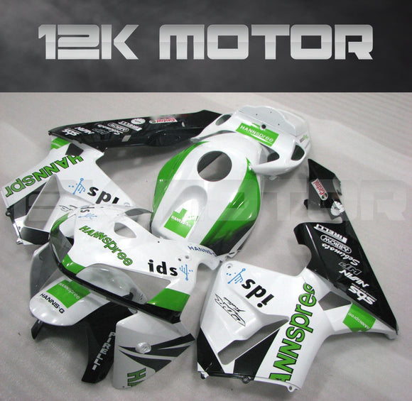White Green Fairing Kit  Fit for HONDA CBR600RR 2005 2006 Aftermarket Fairing Kit