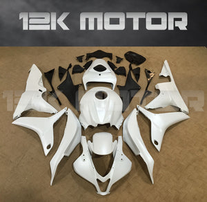 White Fairing Fit for HONDA CBR600RR 2007 2008 Aftermarket Fairing Kit