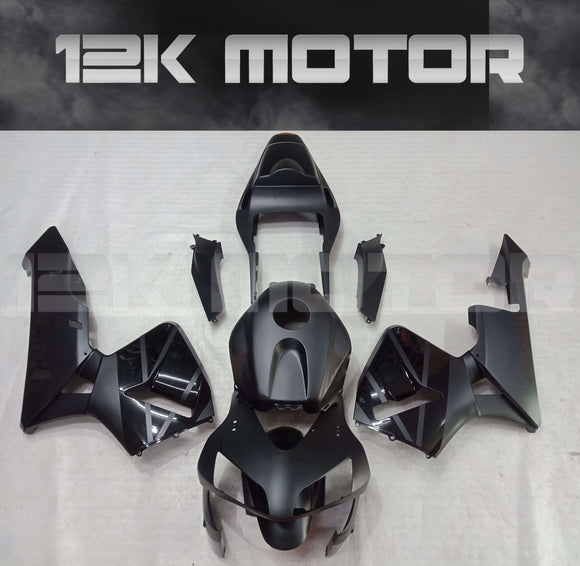 Black in Black Fairing Kit Fit HONDA CBR600RR CBR600 2003 2004