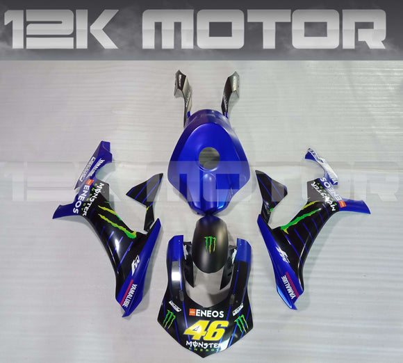 Blue Race Bike Design Yamaha 2015 2016 2017 2018 2019 R1 Fairing Kit