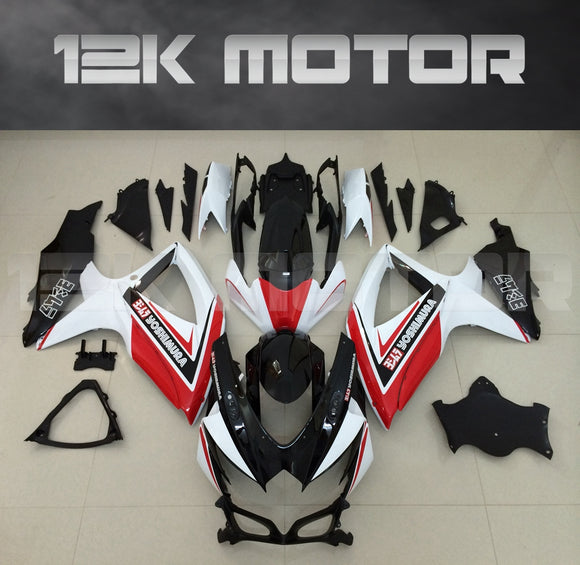 Pink Design Fairing Fit for SUZUKI GSXR 600/750 2008-2010 Aftermarket Fairing Kit