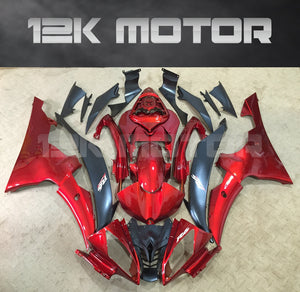 Candy Red Fairing fit for Yamaha R6 2008-2016 Aftermarket Fairing Kits